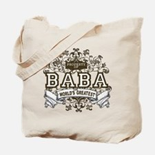 Property Of Baba Tote Bag