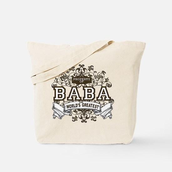 Property Of Baba Tote Bag