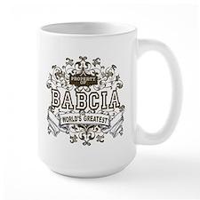Property Of Babcia Mug