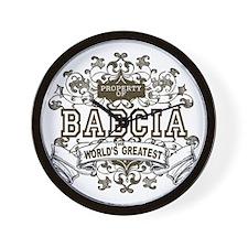 Property Of Babcia Wall Clock