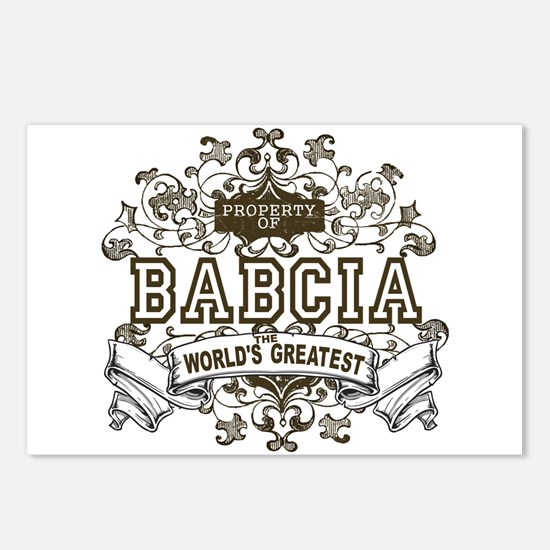 Property Of Babcia Postcards (Package of 8)