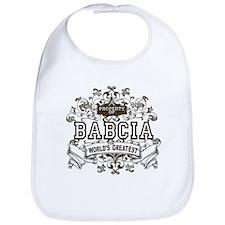 Property Of Babcia Bib