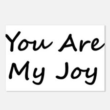 You Are My Joy black scr Postcards (Package of 8)
