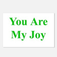 You Are My Joy green Postcards (Package of 8)