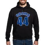OBAMA 44 44th President Hoodie (dark)