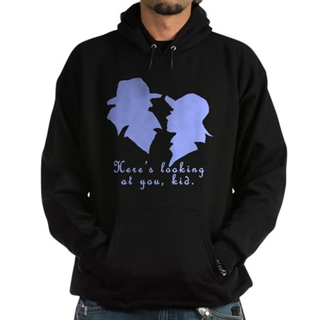 Heres Looking at You Kid Hoodie (dark)