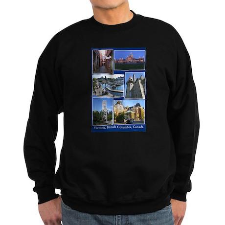 Victoria BC Canada Sweatshirt (dark)