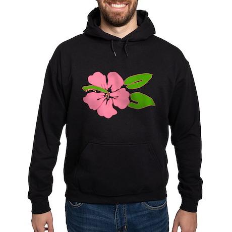 Big Beautiful Hibiscus Hoodie (dark)