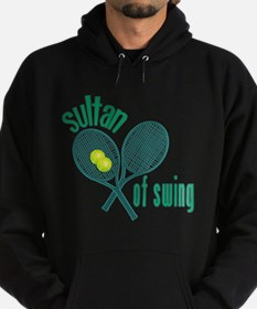 Crossed Tennis Rackets Hoodie (dark)