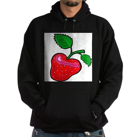 Juicy strawberry t-shirt Hoodie (dark)
