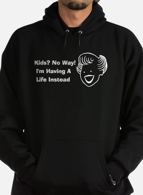 Kids No Way Hoodie (dark)