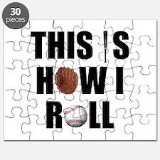 Baseball How I Roll Puzzle