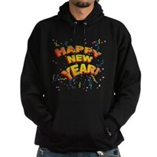 Confetti New Years Eve Hoodie