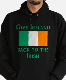 Give Ireland Back Hoodie (dark)