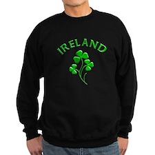 Ireland Luck with Shamrocks Sweatshirt