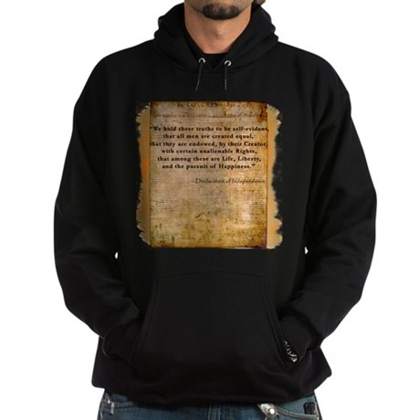 Declaration of Independence Hoodie (dark)