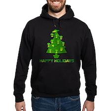Alien Christmas Tree Hoodie