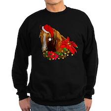 Christmas Horse Sweatshirt