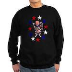 Independence Day Kitten Sweatshirt (dark)