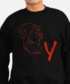 Squirrely Sweatshirt (dark)