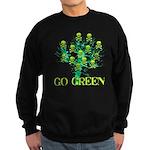 Earth Day Skulls Sweatshirt (dark)