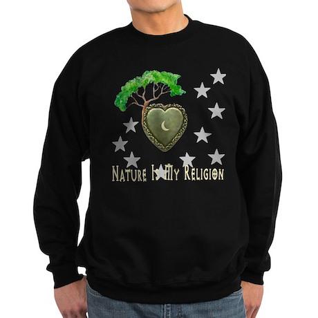 Nature Is My Religion Sweatshirt (dark)