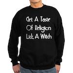 Lick A Witch Sweatshirt (dark)