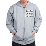 Lick A Witch Zip Hoodie