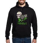 Nihilist Skull Hoodie (dark)