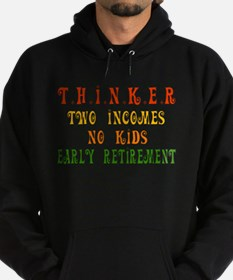 Child-Free Thinker Hoodie (dark)