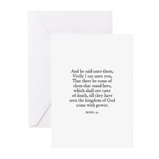 MARK  9:1 Greeting Cards (Pk of 10)