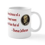 Question With Boldness Coffee Mug