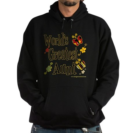 Aunt Butterflies Hoodie (dark)