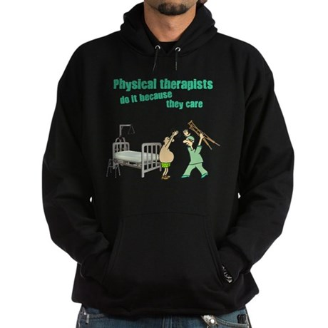Physical Therapists Hoodie (dark)