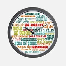 Unique Languages Wall Clock