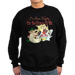Naughty Elf & Santa Sweatshirt (dark)