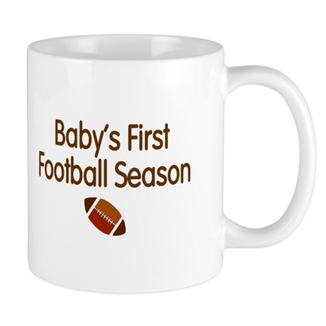 My First Football Season Mug