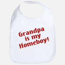 Grandpa Is My Homeboy Bib