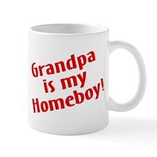 Grandpa Is My Homeboy Mug