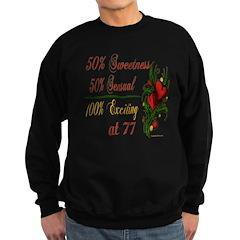 Exciting 77th Sweatshirt