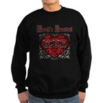 World's Best Temptation Sweatshirt (dark)