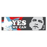 OBAMA: Yes We Can Bumper Sticker