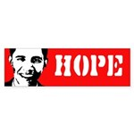 Obama: Hope Bumper Bumper Sticker
