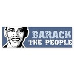 Barack the People Bumper Bumper Sticker