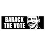 Barack the Vote Bumper Bumper Sticker