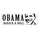 Barack & Roll Bumper Bumper Sticker