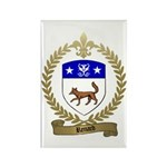 RENARD Family Crest Rectangle Magnet (100 pack)