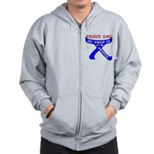TKD Dad Daughter Zip Hoodie
