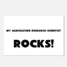 MY Agriculture Research Scientist ROCKS! Postcards