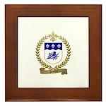 SAVOIS Family Crest Framed Tile
